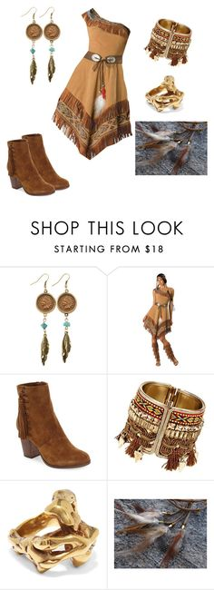 """""""Pocahontas"""" by shavellexoxo on Polyvore featuring American Coin Treasures, Frye and Tom Ford"""