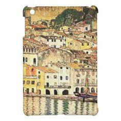 Gustav Klimt - Malcesine on Lake Garda iPad Mini Case - retro gifts style cyo diy special idea