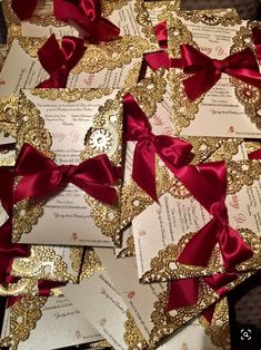<br> Modern red and gold faux glitter Quinceanera invitations that are perfect for your teen. The glamorous glitter border and script font really make these invites pop! This trendy sweet 15 invite is easy to personalize using the online template fields. Quinceanera Planning, Quinceanera Decorations, Quinceanera Party, Themes For Quinceanera, Sweet 15 Quinceanera, Masquerade Decorations, Masquerade Ball Party, Masquerade Theme, Quince Themes