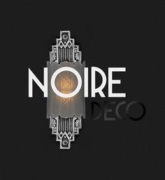 Noire Deco Free Font. Art Deco typeface