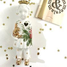 Kerst editie Popje 8 #limitededition #kerstpopje #lammersenlammers #dutchdesign #special #ceramicdoll