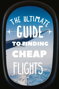 This article will show you in detail the major steps to finding cheap flights. Never overpay for your flight again! Don't let expensive airfare hold you back from traveling, view my Ultimate Guide to Finding Cheap Flights! Low Cost Flights, Find Cheap Flights, Budget Flights, Buy Airline Tickets, Cheap Plane Tickets, Free Tickets, Airline Flights, How To Fly Cheap, Online Travel Agent