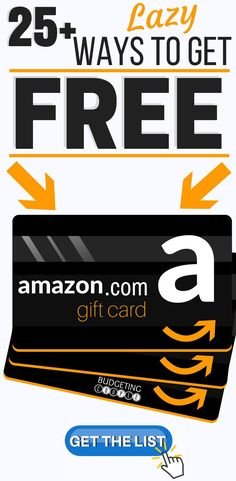 Trying out frugal living and want some guilt-free shopping sprees on Amazon! Find out how to get free amazon gift cards in your spare time!  Start racking up free amazon gift cards fast with this list of 25+ EASY ways! Frugal living and saving money is easy when you have unlimited free gift card power! Budgeting Couple Blog | BudgetingCouple.com #freegiftcards #freeamazongiftcards #freeamazongiftcard #budgetingcouple