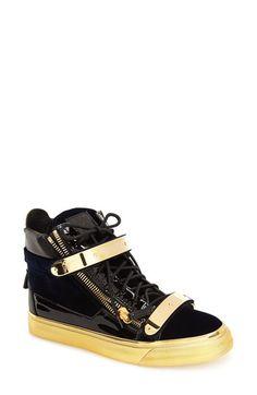 Giuseppe+Zanotti+'London'+High+Top+Sneaker+(Women)+available+at+#Nordstrom