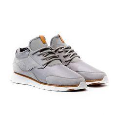 Fancy - Wasson Silver Lace Sneakers by CRDWN