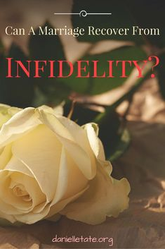 Infidelity ruins trust, faith and often the entire marriage. But there is hope
