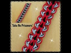 "New ""Take No Prisoners"" Hook Only Bracelet/ How To Tutorial - YouTube"