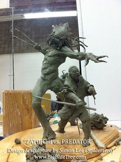 Zatoichi vs Predator by Simon Lee Predator