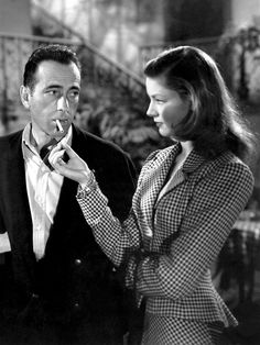 """Humphrey Bogart & Lauren Bacall in """"To Have and Have Not"""" - or Photo - Yovonnda Clayal Old Hollywood, Viejo Hollywood, Hollywood Glamour, Classic Hollywood, Hollywood Icons, Humphrey Bogart, Lauren Bacall, William Faulkner, Bogie And Bacall"""