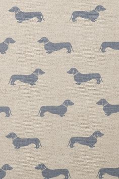 We can't get enough of Emily Bond and her Dachshund Print fabrics!