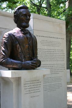 See key milestones in Lincoln's life in Indiana on the Bicentennial Plaza inside Lincoln State Park