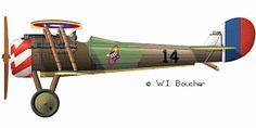 Nieuport 28 - 1918