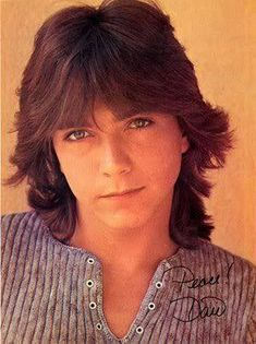 David Cassidy- my first pre-teen heart throb