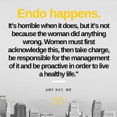 Endo happens. Take charge today. #endowhatfilm #endometriosis #endowarrior