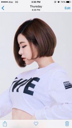 Soda 's bob haircut Asian Woman, Asian Girl, Biker Girl, Trends, Woman Face, Asian Fashion, Bob Hairstyles, Asian Beauty, My Girl