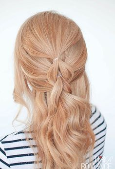 "101 Pinterest Braids That Will Save Your Bad Hair Day | The ""No Braid"" Pull Through Braid"
