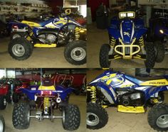 This beautiful Blue/Yellow Polaris Scrambler 400 4x4 #Four_Wheeler_ATV looks amazing. It's available with electric start and fully automatic w/reverse dg exhaust like new condition. Financing available for this ATV and it's available for just $ 2499. Check more about this ATV: http://www.cheap-usedatvs.com/used-atvs/2002/four-wheeler/polaris/scrambler-400-4x4/339/