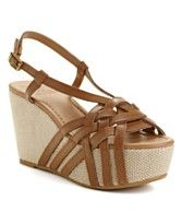 Lucky Brand Shoes, Stacey Wedge Sandals