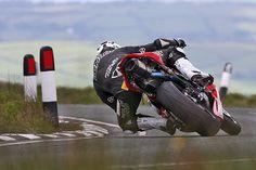 on the limit …William Dunlop, Wilson Craig-Honda CBR600RR, 2011Isle of Man TT Supersport race