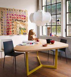 Design Tisch, Table Design, Loft Spaces, Living Spaces, Small Living, Modern Living, Luxury Dining Tables, Italia Design, Interior Inspiration