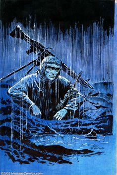 Original Comic Art:Covers, Sam Glanzman - Original Cover Art for Saigon Chronicles #1 (ACG,1998). Universally regarded as one of the greatest war comi... Image #1