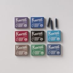 kaweco fountain pen ink refills #thoughtfulashell #socialpreparedness #eggpress