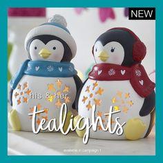 Ceramic Light-Up Penguins - Reds Makeup Companies, Avon Sales, Avon Brochure, Beauty Routines, Twinkle Twinkle, Home Gifts, Penguins, Light Up, Tea Lights