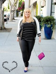 I think everyone should be told they're beautiful until they believe it.   image: Rebel Wilson   ~Da Legend~  *Lifestyles of BBWS & Admirer FB-page*