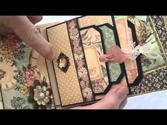 Pocket Page tutorial for the Time to Flourish 8 1/4 x 5 journal - YouTube