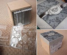 WOW! Embossing Powder Blog: Handy Stamp Storage Idea