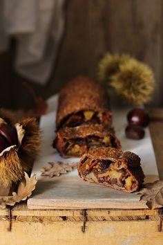 Strudel di farina di castagne con mele, nocciole e miele - Deliziosa Virtù Stuffed Mushrooms, Vegetables, Food, Dolce, Infinite, Anna, Kitchen, Stuff Mushrooms, Cuisine