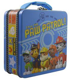 Amazon.com: Nickelodeon Paw Patrol- Metal Tin Lunch box (Blue): Toys & Games