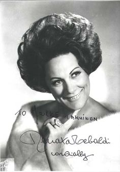 Renata Tebaldi, an angel