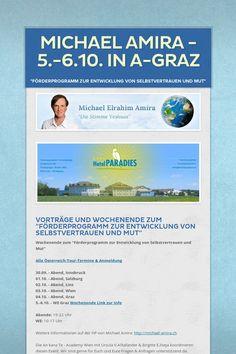 Michael Amira - 5.-6.10. in A-Graz