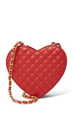 ef4ab957b55ff9 New York   Company Red Quilted Heart Crossbody Bag (ad)