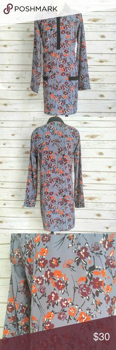 "NWT Abercrombie and Fitch Floral Shirt Dress NWT Abercrombie and Fitch Floral Shirt Dress  Size M brand new with tags. 100% polyester. 36"" in length. Abercrombie & Fitch Dresses Long Sleeve"