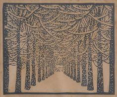 wharton esherick | woodcut
