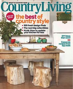 Country Living Magazine: 1-yr for $4.99!