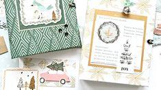 Geschenkidee: zwei süße Winter-Journals | mit dem Januarkit von danipeus... Project Life, December Daily, Album, Grape Vines, Mini, Joy, Scrapbook, Journal, Inspiration
