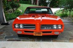 The Judge! '69 PONTIAC GTO