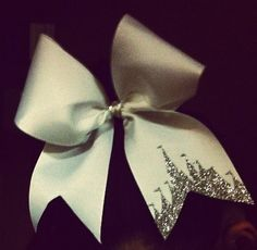 Princess castle cheer bow