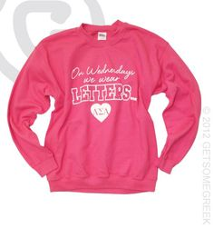 Ohhh cute cute cute! Except with alpha chi. Wear it Wednesday! Mizzou Panhellenic