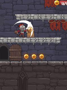Jogue Valiant Knight - STP online no Lejogos! O Cavaleiro Valente está de volta nesta nova aventura de estilo de plataforma! Orcs viciosos abduziram sua amada esposa a princesa e agora eles exigem um r