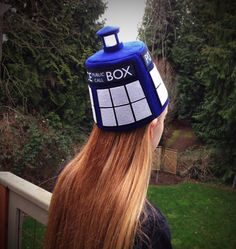TARDIS Fez....no words! Hide this from the Doctor! Except he doesn't like fezzes anymore... unless 12 still likes fezzes... :'(