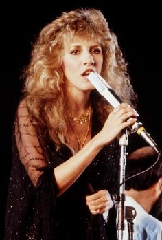 lovely Stevie, wearing all black, fine, filmy and glittery onstage with Mick Fleetwood ♪♫♥❤♥♫♪ Look Vintage, Vintage Ladies, Tango In The Night, Buckingham Nicks, Stephanie Lynn, Stevie Nicks Fleetwood Mac, Season Of The Witch, Beautiful Voice, Beautiful People