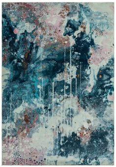 AMELIE AM07 MOOLIGHT - Asiatic Carpets - London Barker And Stonehouse, Cheap Rugs, Navy Rug, Polypropylene Rugs, Pink Abstract, Buy Rugs, Luxor, Pictures Of You, Amelie