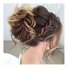 40 Most Delightful Prom Updos for Long Hair in 2016 ❤ liked on Polyvore featuring accessories, hair accessories, prom hair accessories and long hair accessories