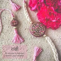Top 25 Handicraft Rakhis Guide This Raksha Bandhan, gift vibrant handicraft rakhis to your brother. Ultimate Rakhi Guide has over 150 rakhis - modern, kids, crochet & more.Get access now! Raksha Bandhan Cards, Raksha Bandhan Quotes, Raksha Bandhan Gifts, Happy Raksha Bandhan Wishes, Happy Raksha Bandhan Images, Raksha Bandhan Photography, Rakhi Quotes, Handmade Rakhi Designs, Rakhi Cards