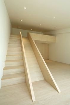 I'm such a kid, but I've always wanted a stair slide.