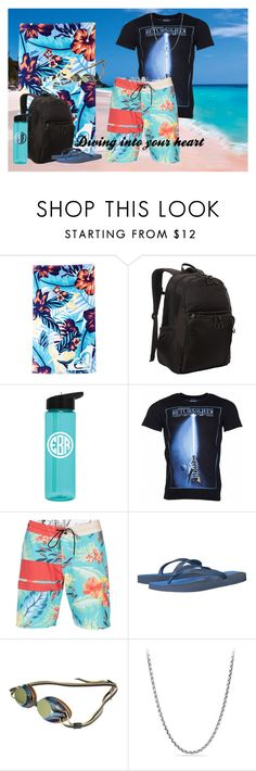 """""""008"""" by berry2206 on Polyvore featuring Roxy, Kenneth Cole Reaction, Volcom, Havaianas, Beco, David Yurman, men's fashion, menswear und Summer"""